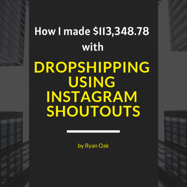 Dropshipping with instagram shoutouts image 2020