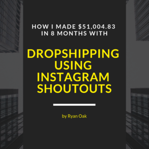Dropshipping with instagram shoutouts image
